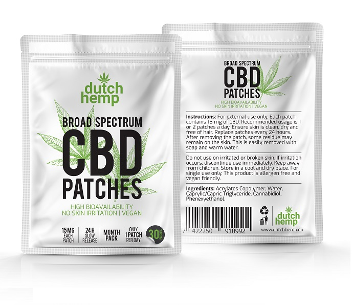 Dutch-Hemp-CBD-patches-broad-spectrum-reseller-front-and-back
